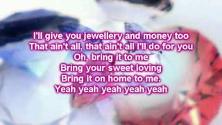Martina McBride feat  Gavin DeGraw -  Bring It on Home to Me (Lyrics)