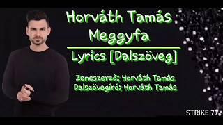 Horváth Tamás - Meggyfa (lyrics, Dalszöveg) A Dal 2018 Eurovision