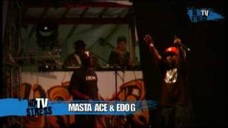 Masta Ace & Edo G Live at No Stress Festival 2010