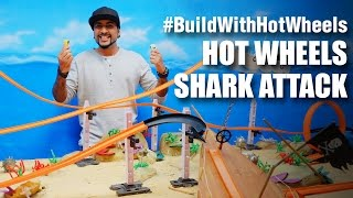 #BuildWithHotWheels - Shark Attack | Hot Wheels | Mad Stuff With Rob