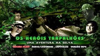 OS HERÓIS TRAPALHÕES UMA AVENTURA NA SELVA - DVD MENU