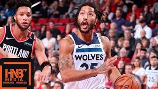 Minnesota Timberwolves vs Portland Trail Blazers Full Game Highlights | 12.08.2018, NBA Season