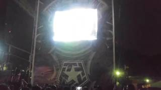 DragonForce - Through the Fire and Flames LIVE Pulp Summer Slam 17