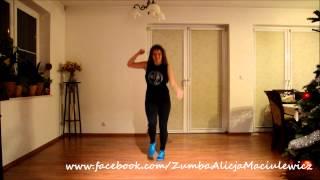 Czadoman Ruda tańczy jak szalona Zumba Alicja Maciulewicz