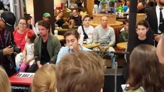 [스웨덴 일상] Benjamin Ingrosso - Good Lovin @Mall Of Scandinavia 170603
