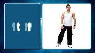 Reggaeton - Nivel 1 Paso Básico Rol Hombre (5/13) - Academia de Baile