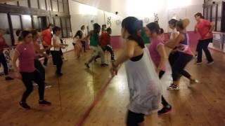 Chorégraphie Serge Beynaud - Karidjatou (Cours de Zumba/Fitness avec Jules Diepa) à Montesson