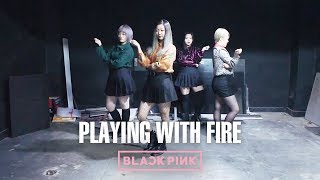 BLACKPINK(블랙핑크) _ PLAYING WITH FIRE(불장난) Dance Cover by DAZZLING from Taiwan