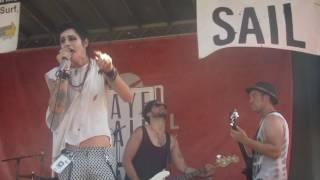Palaye Royale ~Teenagers (MCR Cover Live) Vans Warped Tour Detroit 7/22/16