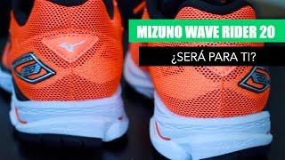 Mizuno Wave Rider 20, la zapatilla running todoterreno
