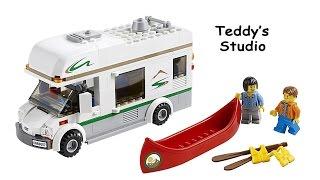 Lego City Set 60057 Camper Van Speed Build