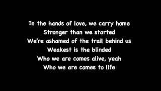 Miley Cyrus - Hands of Love (Lyrics Video)