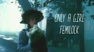 fem!johnlock ♥only a girl♥