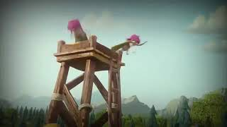 CLASH OF CLANS VIDEO INTRO TENPLATE NO TEXT