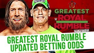 Greatest Royal Rumble Updated Betting Odds