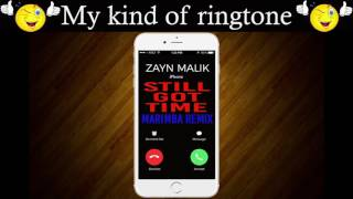 Latest iPhone Ringtone - Still Got time Marimba Remix Ringtone - Zayn Malik