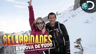 Kate Hudson salta de teleférico na Itália - Celebridades à Prova de Tudo com Bear Grylls