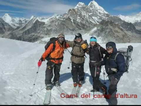 NEPAL, Camp altura a 5700 m. octubre 2012