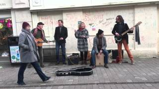 Going up the country - Cover  - HQ's busking in Galway  Feb 16