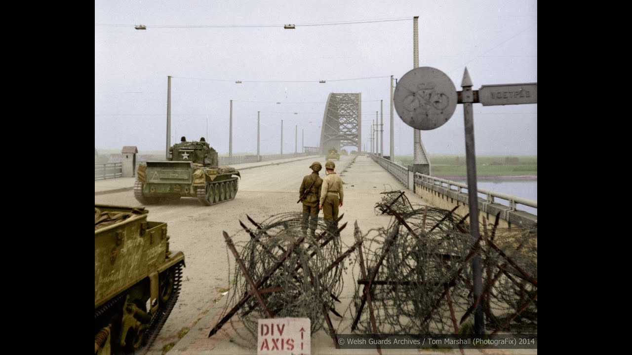 German Frogmen Attack - Nijmegen Bridge 1944