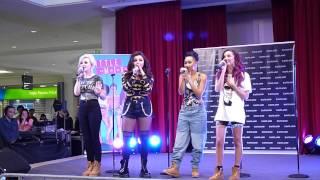 Little Mix - DNA (Acapella) (Live at Eastland SC, Melbourne, AUS. Nov 1st, 2012)