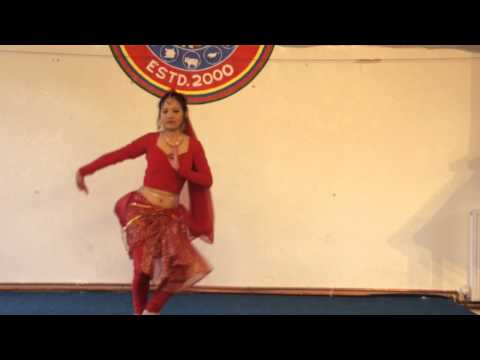 Miss. Nayan Gurung (Talent Round) Miss UK Nepal 2012