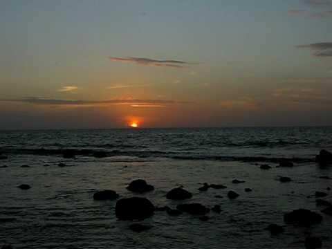 Sonnenuntergang Big Corn Island, Princesa de la Isla