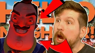 YOUTUBER PLAYS HELLO NEIGHBOR ALPHA 4