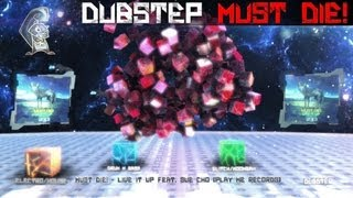 [Dubstep] Must Die! - Live It Up Feat. Sue Cho [Play Me Records] | Full HD Audio Visualization