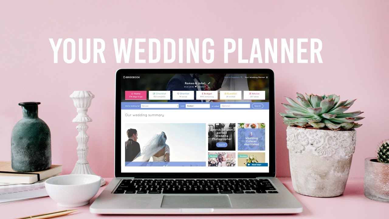 wedding planning tools bridebook