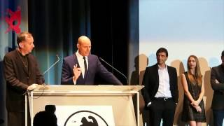 Divertidísimo Mark Strong: Speech en catalán en el Sitges Festival 2013 para presentar Mindscape