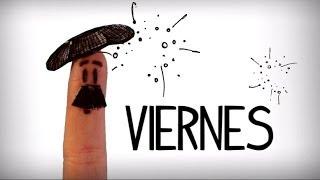 Días de la semana en español, aprender español vocabulario