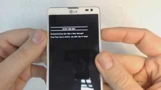 LG Optimus L9 II D605 hard reset