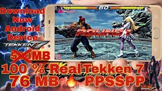 How to download tekken 7 for android ppsspp highly