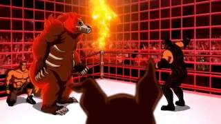 Scooby Doo! WrestleMania Mystery : la accion continua