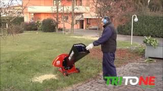 Ceccato Olindo Takkenversnipperaar - TRITONE ONE ELECTRO 230 400V - AgriXpert