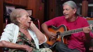 Cuando dos Almas, singing with Mom on her 90th Birthday