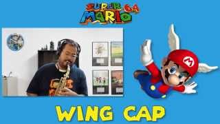 """Wing Cap (From """"Super Mario 64"""") Alto Saxophone Game Cover"""