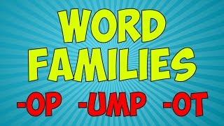 Workout With The Word Families 6 | Word Family Song | Jack Hartmann