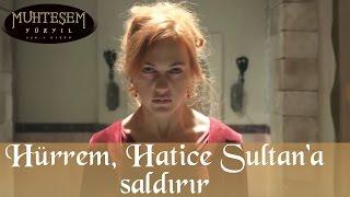 Hürrem, Hatice Sultan'a Saldırır - Muhteşem Yüzyıl 88.Bölüm