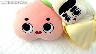 EXO D.O. Kyungsoo Plushie Dolls (Fanmade) - Fruit version width=