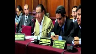 JUSTINIANO APAZA ORDÓÑEZ EN COMISIÓN DE TRANSPORTES Y COMUNICACIONES