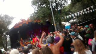 Disclosure B2B Jackmaster B2B TEED @ Unknown Festival Croatia 2014 Forrest stage