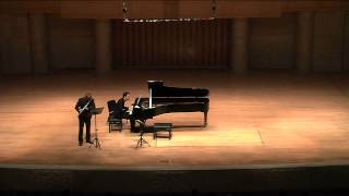J. S. Bach Air for flute and piano