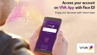 The new face ID login feature from VIVA.