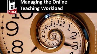 Managing Online Teaching
