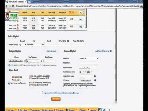 İnternette En Ucuz Uçak Bileti-Uçak Bileti Nasıl Alınır Anlatan Video 2012