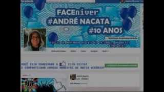 Faceniver! André Nacata 10 Anos! Musica ambiente túnel de entrada!