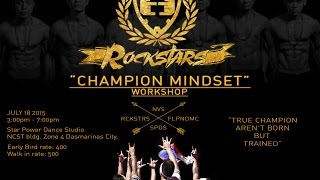 CHAMPION MINDSET | ROCKSTARS WORKSHOP 2015