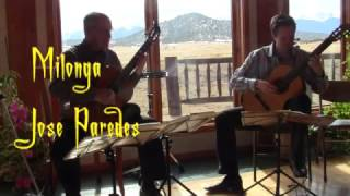 Milonga by José Paredes, performed by Colin McAllister and Jim Bosse